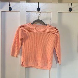Little girls crewcuts 6/7 sweater